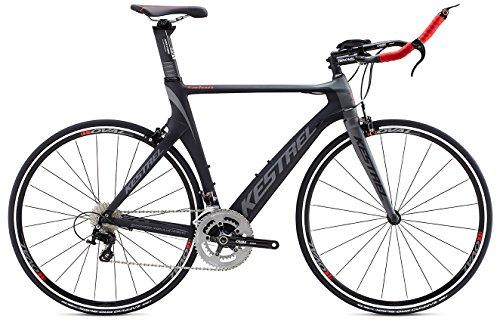 2015 Kestrel Talon Tri-Shimano 105 Carbon Fiber 48CM Bike 3055171648 Grey/Red