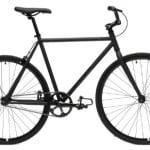 Critical Cycles Fixed Gear Single Speed Fixie Urban Road Bike (Matte Black, Medium)