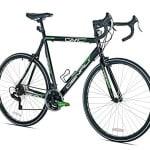 GMC Denali Road Bike, Black/Green, 22.5-Inch/Medium