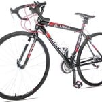 Merax 21 Speed 700C Aluminum Road Bike Racing Bicycle (Red 54CM)
