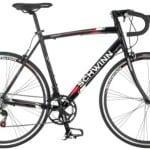 Schwinn Men's Phocus 1400 700C Drop Bar Road Bicycle, Black, 18-Inch