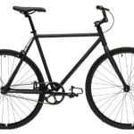 Critical Cycles Fixed Gear Single Speed Fixie Urban Road Bike (Matte Black, Medium)