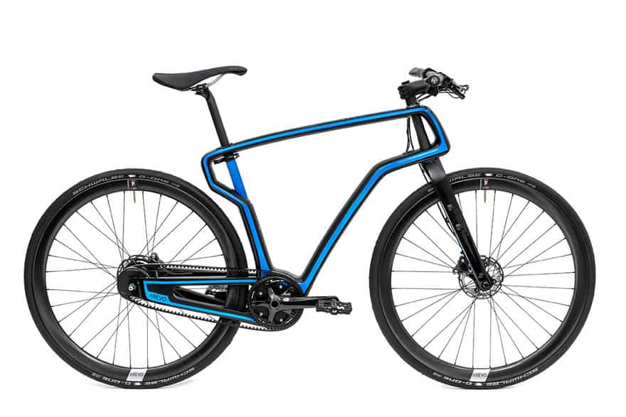 Arevo prints Carbon Fiber Bicycles in the US